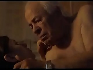Lucky old man chance sleep with young girl full erotic sex and romance with old man